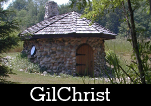 A photo of a cabin at GilChrist