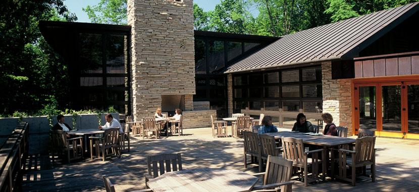 Photo of an outdoor area at Seasons Meeting House