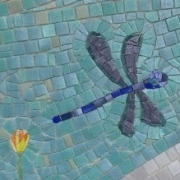 Mosaic tile in CITYarts wall