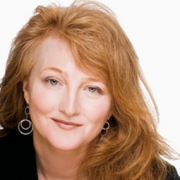 head shot of On Being host Krista Tippett