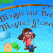 Maggie and her Magical Glasses Artwork