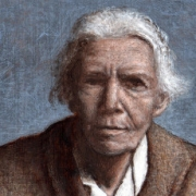 Dorothy Day painting by Flickr user Tim Lowly
